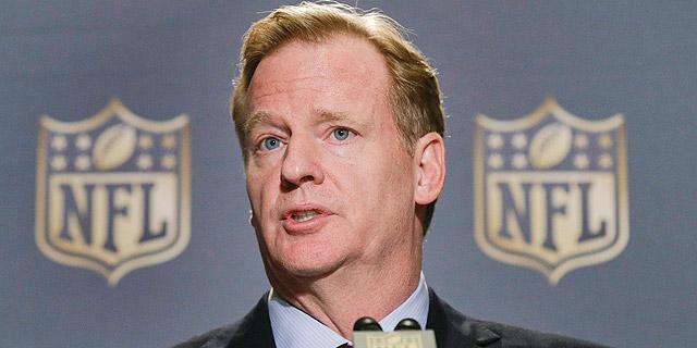 השכר של קומישינר ה-NFL ב-2014: 34 מיליון דולר