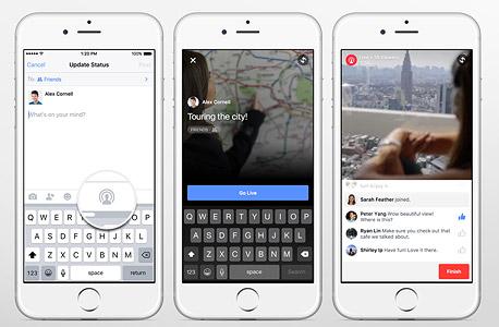 פייסבוק לייב וידיאו