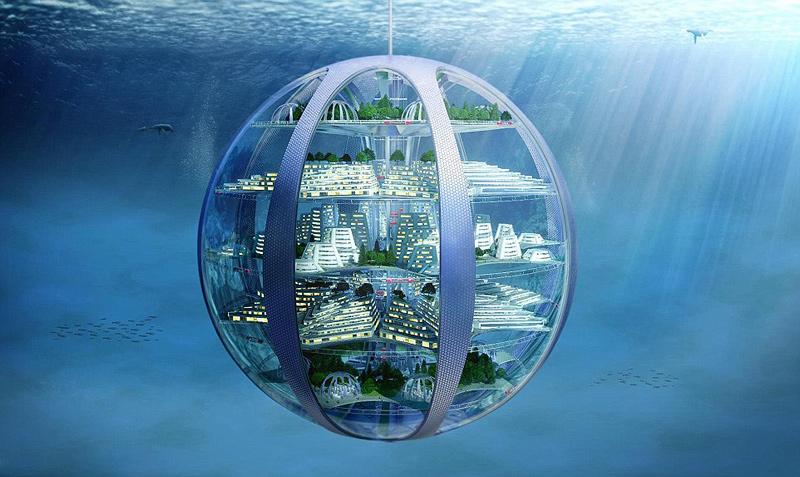 ערים תת ימיות. צפויות להפוך למציאות כבר ב-2116 , הדמיה: Samsung Smart Things