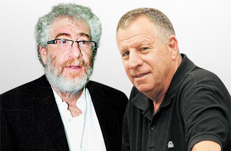 מימין: דני נוימן ואבי דרכסלר. לא הועמדו לדין