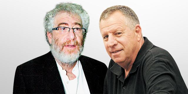 מימין: דני נוימן ואבי דרכסלר. לא הועמדו לדין, צילומים: חיים צח, שאול גולן