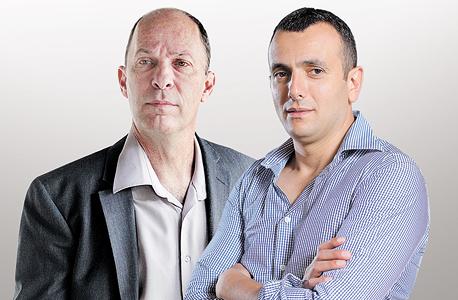 """מימין: שי באב""""ד ואורי יוגב, צילום: אוראל כהן"""
