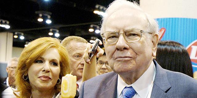 """ברקשייר: זינוק של 32% ברווח הנקי; באפט: """"טעות להמר נגד ארה""""ב"""""""