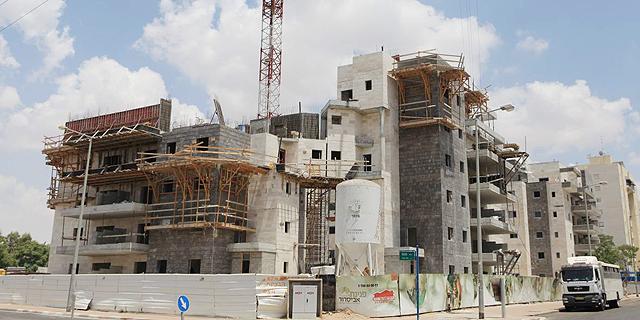 דירות בבנייה (ארכיון), צילום: אוראל כהן