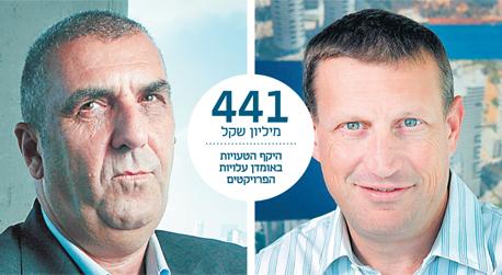 מימין: אסף מור ואריאל וילנסקי