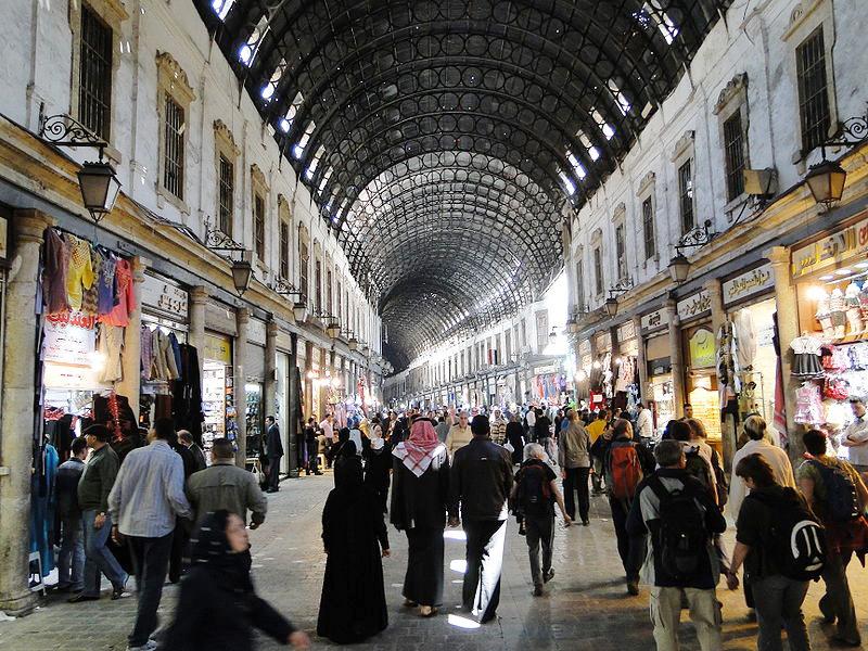 דמשק, סוריה. מדורגת במקום ה-7 מהסוף