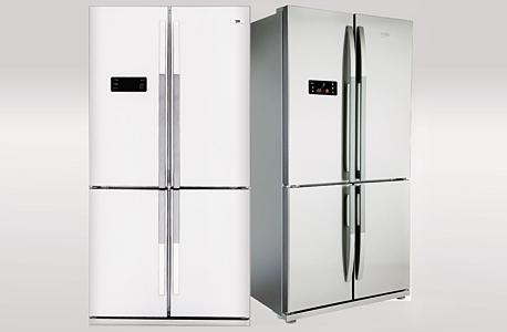 מימין: המקרר של בקו והמקרר של בלומברג. כבר לא מנמנמים