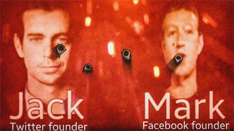 וידיאו דאעש מאיים על מארק צוקרברג ו ג'ק דורסי