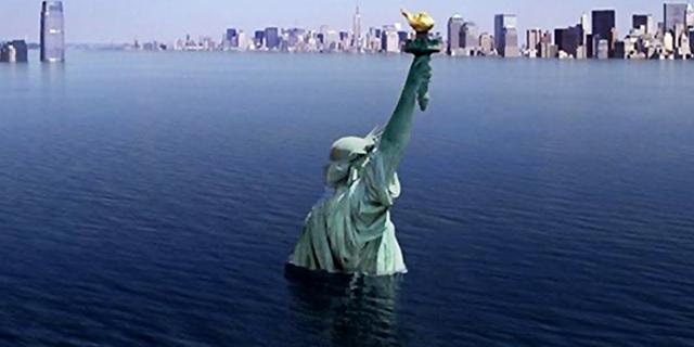 פסל החירות ב-2100?, צילום: יוטיוב