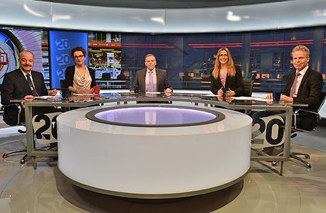 התוכנית הפטריוטים בערוץ 20 (ארכיון), צילום: נדב כהן יונתן