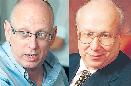 מימין: גרשון זלקינד ואבי כץ