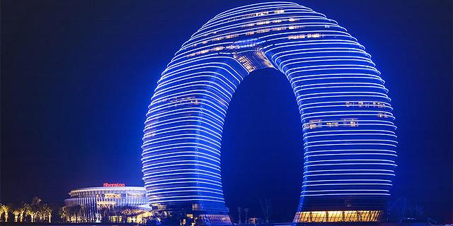 ממשלת סין שמה קץ לבניית מגדלים מטורפים  - אלה שוברי השיאים