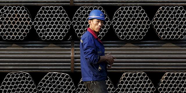 סין: ירידה מפתיעה בייצור התעשייתי בחודש אפריל