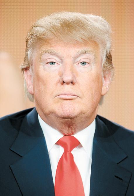 """דונלד טראמפ. """"אני נהפך למיינסטרים!"""""""