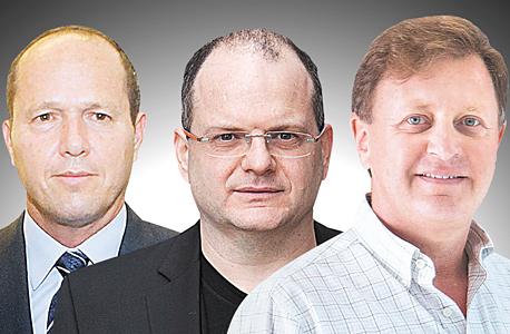 מימין זיו אבירם גיל שויד ניר ברקת, צילום: אלכס קולומויסקי, אוראל כהן, תומי הרפז