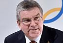 """תומאס באך יו""""ר הוועד האולימפי הבינלאומי, צילום: איי אף פי"""