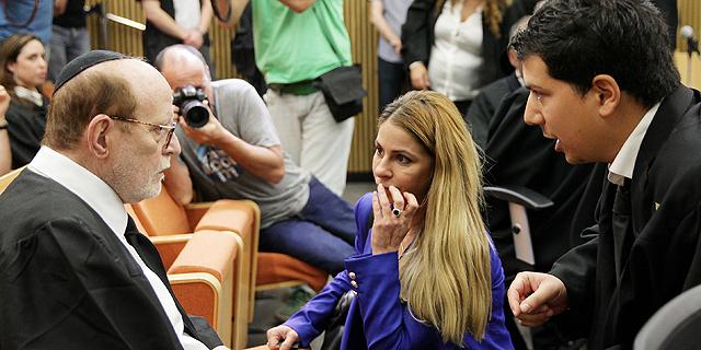 ענבל אור ועורכי דינה עמית חדד ויעקב וינרוט, צילום: אוראל כהן