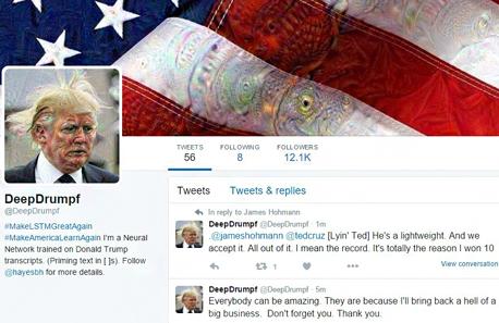 טוויטר מחולל טראמפ