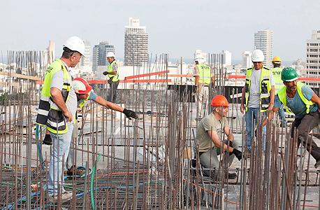פועלי בניין (ארכיון), צילום: אוראל כהן