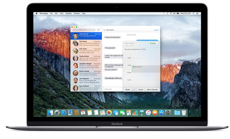 מקבוק אפל macbook, צילום: apple.com