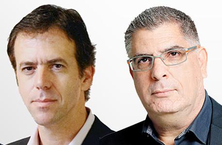 """נאמני מגה רו""""ח גבי טרבלסי עו""""ד אהוד גינדס, צילום: עמית שעל"""