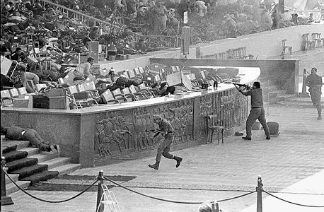 רצח נשיא מצרים אנואר סאדאת ב-1981,. מנהיג הג