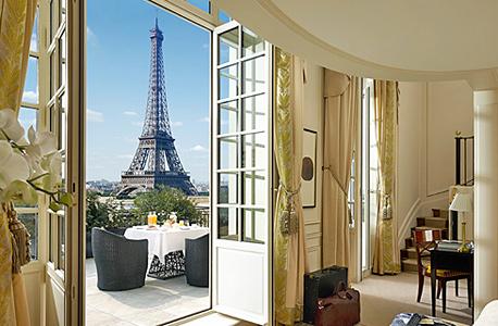 מלון פאר בפריז. אילוסטרציה, צילום: limelightescapes