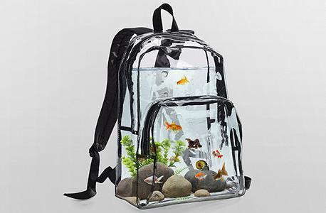 ללכת עם דג על הגב