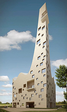 מסגד שתכנן האדריכל איימן טבעוני