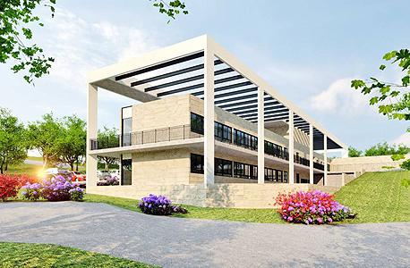בית ספר בשיבלי  שתכנן האדריכל איימן טבעוני