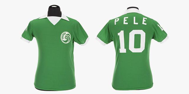 יד ראשונה מאגדת כדורגל: מזכרותיו של פלה יוצאו למכירה פומבית