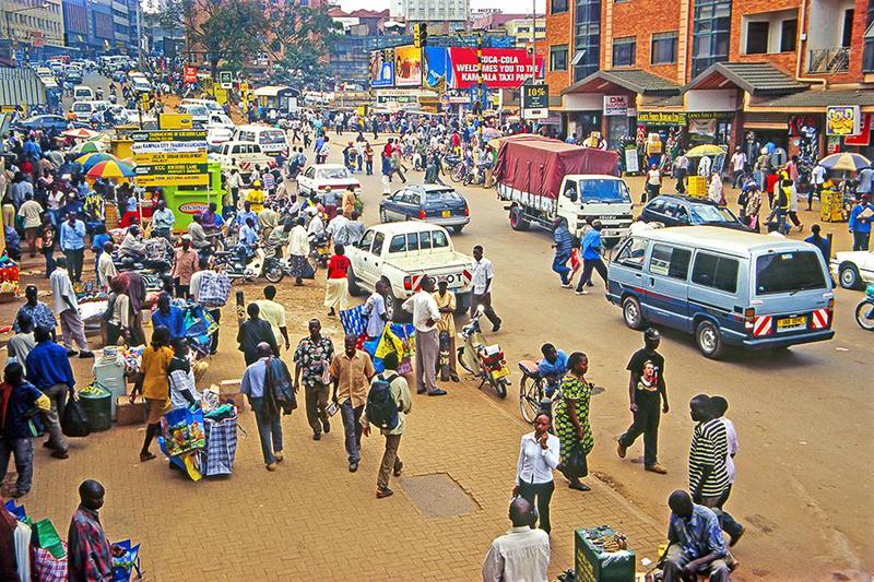 קמפלה, אוגנדה. נקודת מוצא למסעות נוספים, צילום: שאטרסטוק