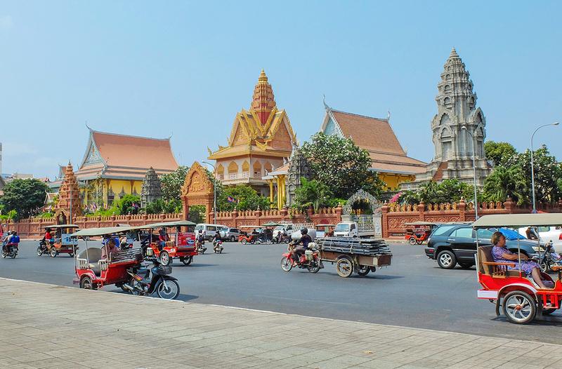 פנום פן, קמבודיה. אדריכלות מרשימה, צילום: שאטרסטוק