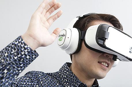 אוזניות סמסונג מציאות מדומה Entrim 4D