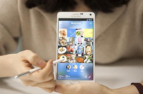 רשת חברתית סמסונג וופל Waffle