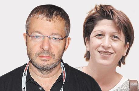 מימין: רוני אלוני סדובניק ומוטי מורל. נשקלת בקשה לדיון נוסף