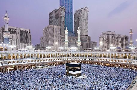 מכה סעודיה ערב הסעודית מגדל השעון