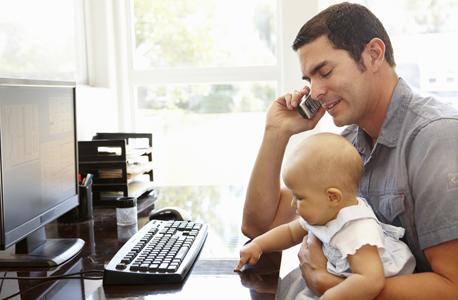 עבודה מהבית חיים משפחה איזון קריירה, צילום: שאטרסטוק