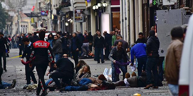 דיווחים בטורקיה: שלושה ישראלים נרצחו בפיגוע באיסטנבול, 11 נפצעו