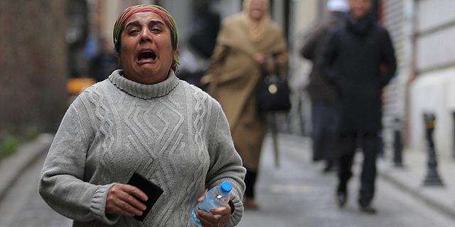 טרור באיסטנבול: 11 הרוגים בפיצוץ מכונית תופת
