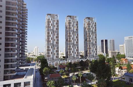 מתחם רשות השידור שרונה הקריה תל אביב הדמיה, צילום: סי טי בי אדריכלים