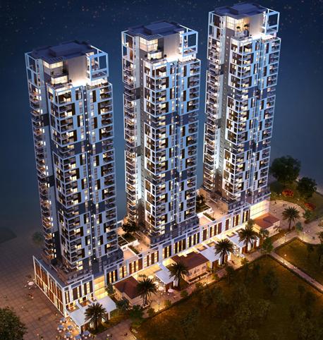 הדמיות מתחם שרונה מינהל מגורים 1, צילום: סי טי בי אדריכלים