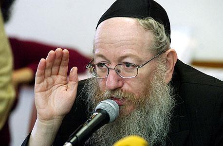 יעקב ליצמן, צילום: אלכס קולומויסקי