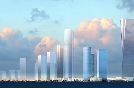הדמיית מגדל עזריאלי החדש בדרך בגין במקום ידיעות אחרונות, הדמיה: משה צור אדריכלים