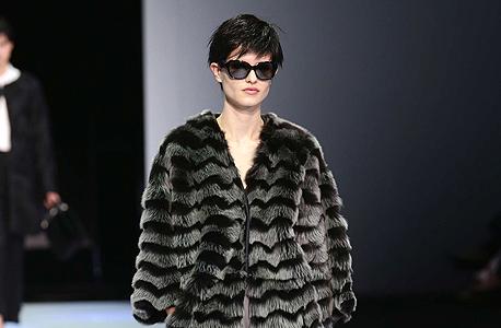 מעיל פרווה של ארמני, צילום: בלומברג