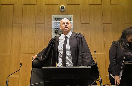 איתן אורנשטיין שופט ב משפט של ענבל אור בית משפט , צילום: אוראל כהן