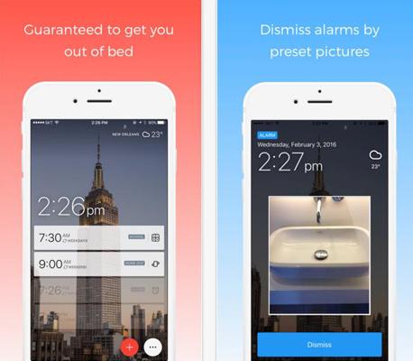 Alarmy אפליקציה שעון מעורר, צילום: appstore