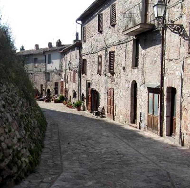 בתי הכפר והרחוב שמקיף את הטירה, הכל כלול
