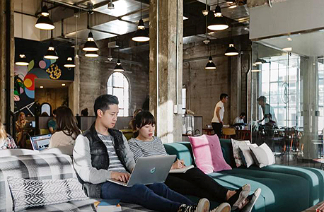 WeWork office in Shenghai