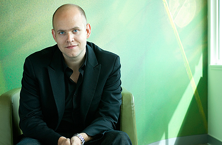 דניאל אק מנכל ספוטיפיי spotify, צילום: spotifypresscom